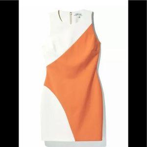 Elizabeth & James color block mini Klein dress